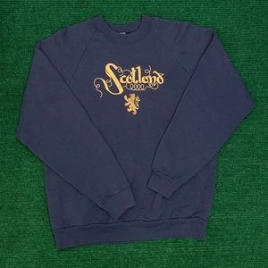 RARE Vtg 90s Scotland Made in Ireland sweatshirt